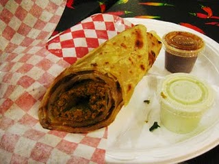 Kabab Paratha Roll Special