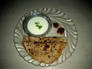 Aloo Paratha Special