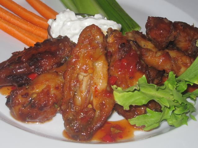 Thaistyle Broiled Chicken Wings recipe at DesiRecipes
