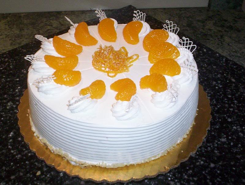 Easy Mandarin Orange Cake Recipe
