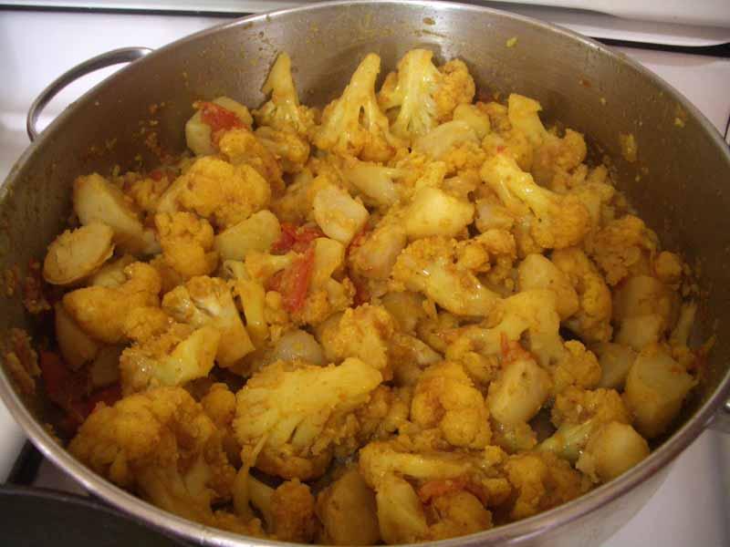Cauliflower In Yogurt And Tandoori Masala recipe at DesiRecipes