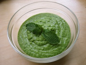 Mint Chutney at DesiRecipes.com