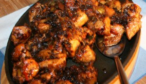 Black Chilli Chicken