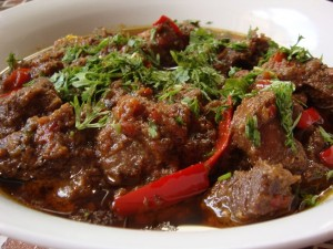 Karahi Gosht at DesiRecipes.com