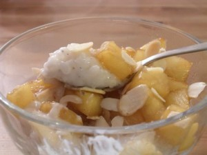Pineapple Pudding at DesiRecipes.com