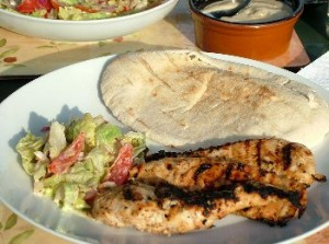 Chicken Shawarma at DesiRecipes.com