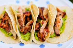 Chicken Tacos at DesiRecipes.com