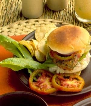 Veggie Burgers at DesiRecipes.com