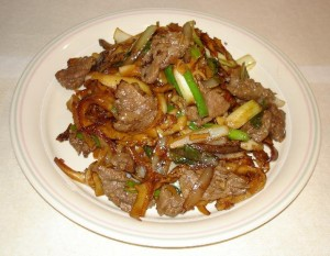 Chinese Beef And Chillies at DesiRecipes.com