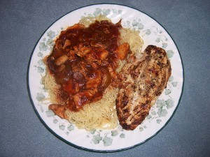 Chicken Steak With Red Sauce at DesiRecipes.com