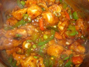 Chinese Chili Chicken at DesiRecipes.com
