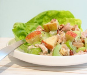 Waldorf Chicken Salad at DesiRecipes.com