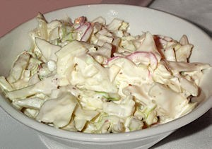 Coleslaw at DesiRecipes.com
