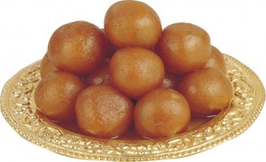 Tasty Gulab Jamun at DesiRecipes.com