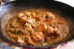 Laziz Chicken Karahi at DesiRecipes.com