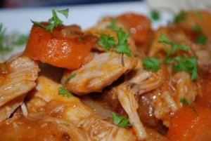 Tomato Chicken Recipe at DesiRecipes.com