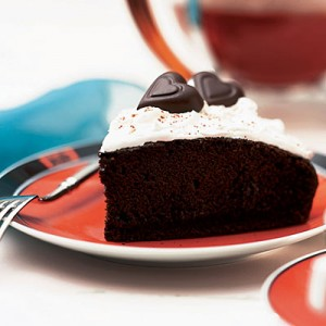 Chocolate Midnight Cake at DesiRecipes.com