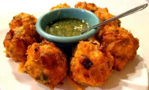 Shrimp Pakoras at DesiRecipes.com