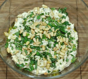 Eggplant Dip at DesiRecipes.com