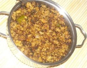 Achari Qeema at DesiRecipes.com