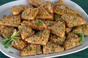 Thai Toast at DesiRecipes.com