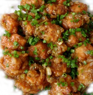 Chicken Manchurian at DesiRecipes.com
