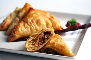 Chinese Samosas at DesiRecipes.com
