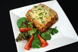Eggplant Lasagna With Ricotta/parmesan Cheese at DesiRecipes.com