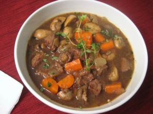 Beef Stew at DesiRecipes.com