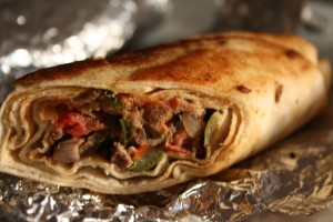 Shawarma Wrap at DesiRecipes.com