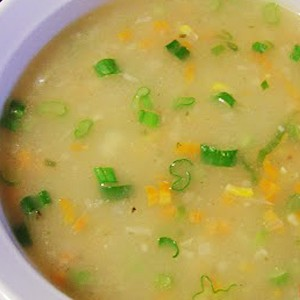 Corn And Peas Soup at DesiRecipes.com