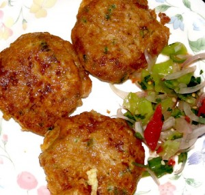 Shami Kabab at DesiRecipes.com