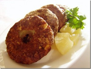 Chicken Doughnuts at DesiRecipes.com