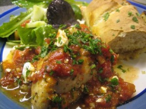 Chicken With Tomato Sauce at DesiRecipes.com