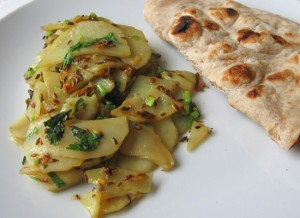 Aloo Ki Bhaji at DesiRecipes.com