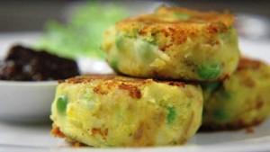 Potato Kebabs at DesiRecipes.com