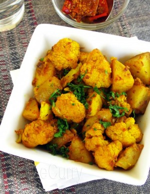 Cauliflower And Potato Masala at DesiRecipes.com