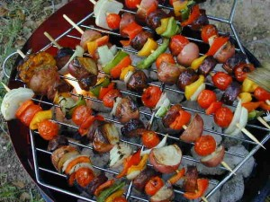 Lamb Shish Kebab at DesiRecipes.com