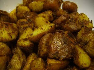 Aachari Aloo at DesiRecipes.com