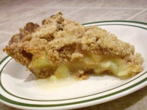 Apple Crumble (Pie) at DesiRecipes.com