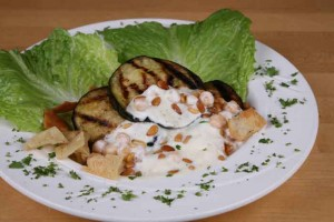 Dahi Baingan (Egg Plant With Yogurt) at DesiRecipes.com
