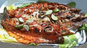 Bbq Fish at DesiRecipes.com