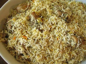 Yummy Chicken Pulao at DesiRecipes.com