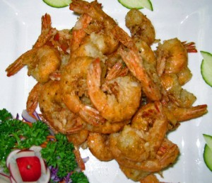 Hot And Sour Shrimps recipe