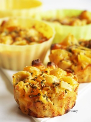 Chicken Cheese Cups at DesiRecipes.com
