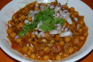 Chikkar Cholay at DesiRecipes.com