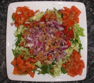 Mixed Vegetable Salad at DesiRecipes.com