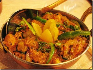 Fast Chicken Karahi at DesiRecipes.com