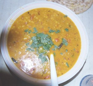 Irresistable Chana Daal at DesiRecipes.com
