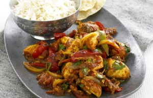 Chicken Karahi With Capsicum at DesiRecipes.com